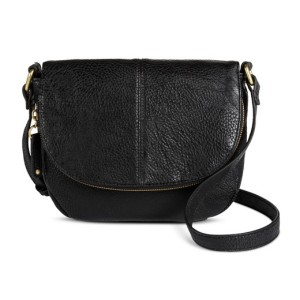 target black saddle bag